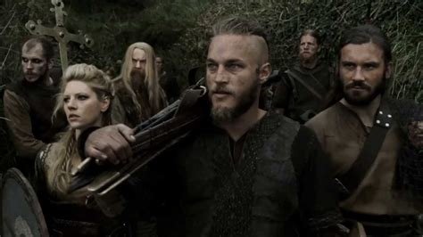 vikings shield wall battle hd youtube