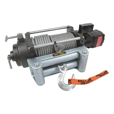the mile marker hydraulic winch system has been a self recovery icon for over 20 years wedge