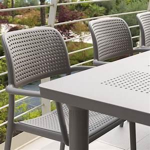 Set giardino tavolo allungabile e 8 sedie Libeccio e Bora ArredaSì