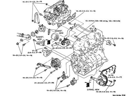 similiar mazda tribute engine of 1996 keywords 1996 ford ranger 2 3 engine diagram also mazda b3000 engine diagram