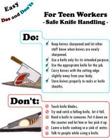 safety kitchen knives youth worker safety in restaurants etool safety poster safe knife handling