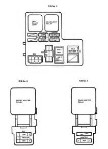 1977 Toyota Pickup Fuse Diagram