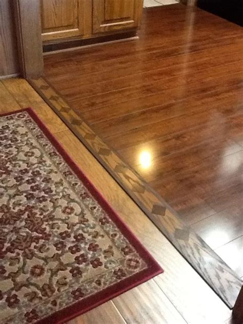 laminate flooring between rooms i love the transition from the wood to the laminate home ideas pinterest patterns i love