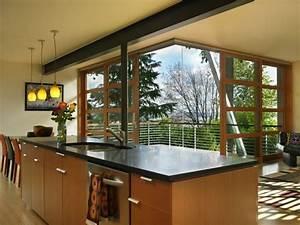 Bar Exterieur Design : am nagemez une cuisine ouverte sur l ext rieur ideeco ~ Melissatoandfro.com Idées de Décoration