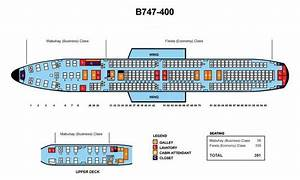 Philippine Airlines Boeing 747 400 391 Seats Aircraft