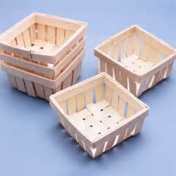 small gift baskets mini wooden basket favor 6 pcs unique wedding favor