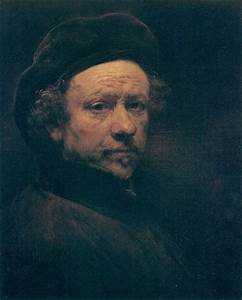 Self-Portrait With Beret And Turned-Up Collar by Rembrandt ...