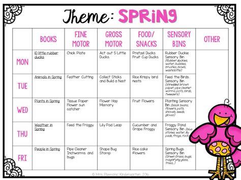 preschool lesson plans for spring 73 best kindergarten activities images on 496
