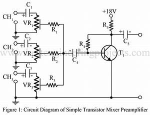 audio mixer circuit best engineering projects With mixer audio circuit