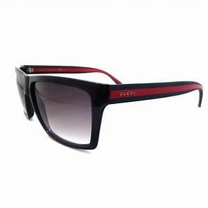 Gucci Sonnenbrille 1013 Schwarz Dunkelgrau Verlaufend