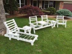 vintage redwood lawn furniture  california early
