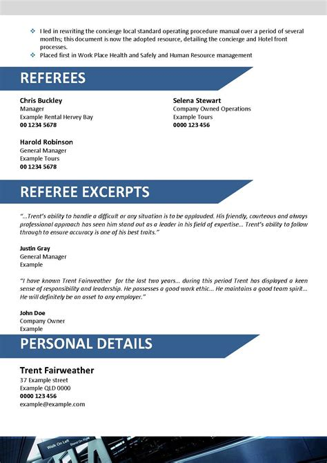 travel resume template 090