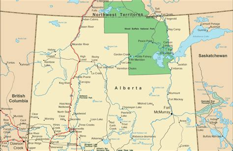 tallest building map  alberta province pictures
