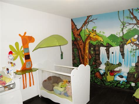 deco chambre jungle decoration de chambre jungle
