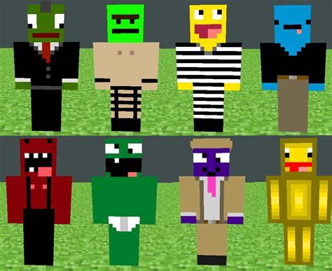 Derp Skin Pack Minecraft Project