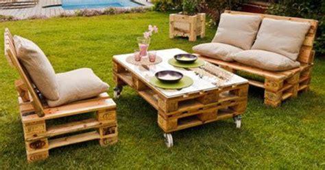 mueblesdepaletsnet jardin amueblado  muebles de palets