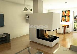 Kamin 3 Seiten : 17 best images about kamine on pinterest 3d rendering modern fireplaces and fireplaces ~ A.2002-acura-tl-radio.info Haus und Dekorationen