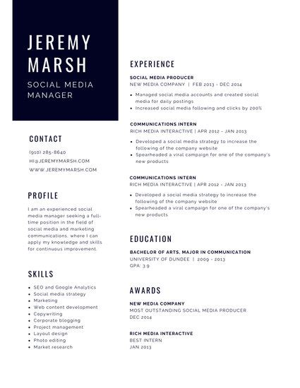 Chronological Resume Minimalist Design Template by Customize 864 Modern Resume Templates Canva