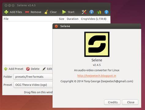 Ubuntu Resume Process Terminal by How To Install Selene Media Encoder In Ubuntu Debugpoint