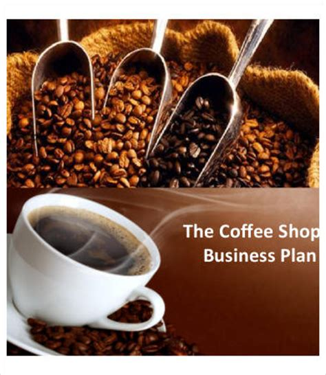 coffee shop business plan   word  documents