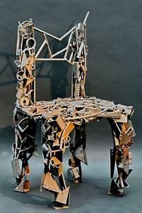Skulpturen Aus Rostigem Stahl : stuhlskulptur aus rostigem stahl schrott geschwei t ~ Sanjose-hotels-ca.com Haus und Dekorationen