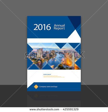cover design annual report brochure flyer stock vector