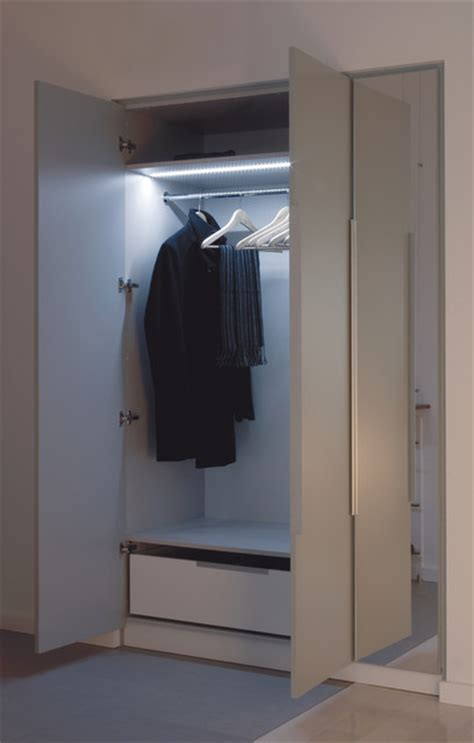 led closet lighting contemporary closet st louis