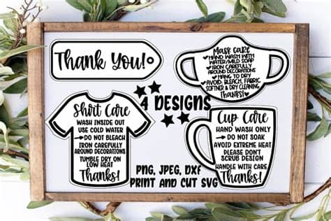 If you are new to dreaming tree, this is a wonderful place to start. Face mask care instructions SVG DXF JPEG Silhouette Cameo ...