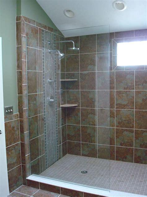 walk  showers  doors  existing  shower