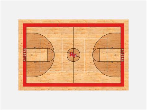 hannah pamplico high school bball court design  barry