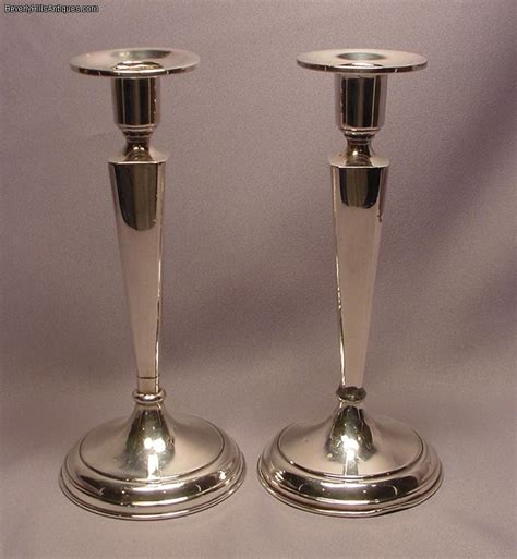 candlestick ls for sale pair of 8 inch sterling silver candlesticks for sale