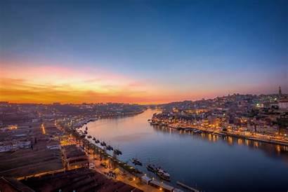 Portugal Porto Wallpapers Dawn River Oporto Background