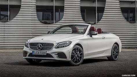 New 2019 mercedes benz e class e 450 sport coupe in white plains. 2019 Mercedes-Benz C-Class C300 Cabrio (Color: Diamond White) - Front Three-Quarter   HD ...