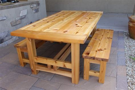 Small Wood Patio Table Plans