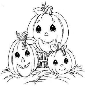 Free Precious Moments Halloween Coloring Pages