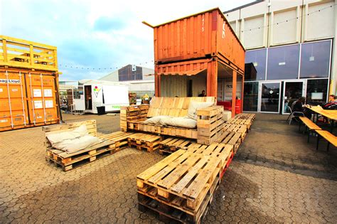 container cuisine abandoned island reborn as a shipping container