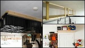 Diy Garage Ceiling Storage Best Storage Design 2017
