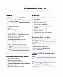 sample emergency action plan 7 documents in pdf word With padi emergency action plan template