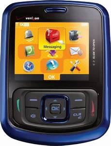 Blackberry Unlocked Phone  Verizon Wireless Blitz Phone  Blue