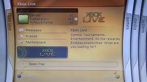 Xbox 360 Blades Dashboard Version 1888 Running On A Jtag