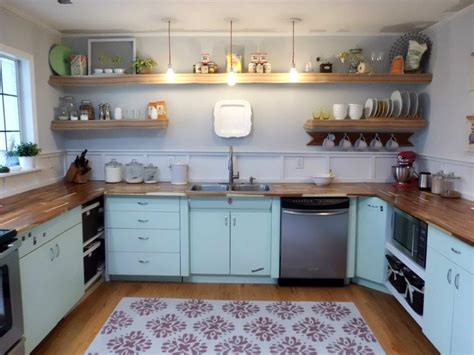 kitchen  metal cabinets refinished youngstown