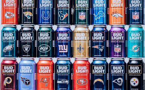 Bud Light - bud light launches nfl themed packaging ahead of new