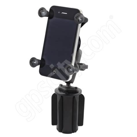 cup holder phone mount ram mount universal x grip mobile phone vehicle cup holder