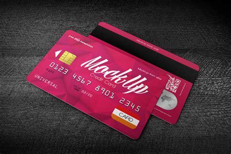 credit card mockup  psd   credit card