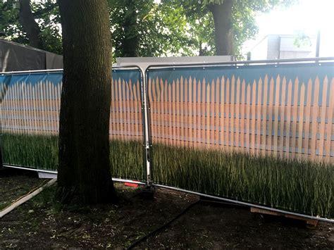 Garten Für Event Mieten Berlin by Bauzaun Mieten Sichtschutz F 252 R Events Eventagentur Berlin