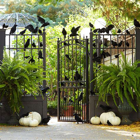 cool yard decorations 125 cool outdoor halloween decorating ideas digsdigs