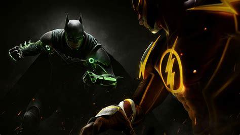 wallpaper injustice  batman  games flash ps