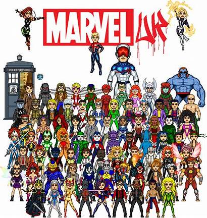 Marvel Microheroes Wikia Wiki Type Category Alphabetical