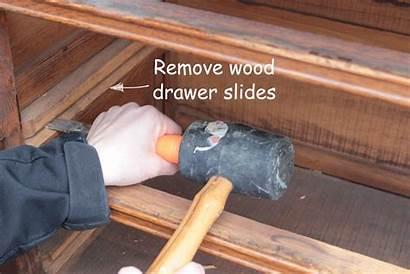 Drawer Slides Dresser Install Drawers Step Shades