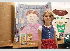 State Road students portray history heroes at living wax